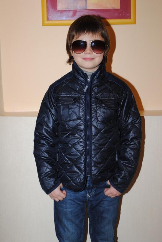 Модная куртка Armani на мальчика
