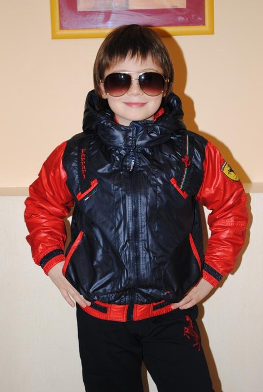 Куртка Ferrari на мальчика