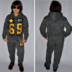 Модный стильный брендовый утеплённый спортивный костюм на флисе John Galliano для мальчика 9 лет 10 лет 11 лет 12 лет 13 лет 14 лет