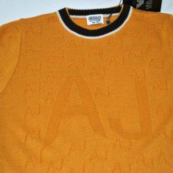 Модный крутецкий свитер Armani для мальчика 8 лет 9 лет 10 лет 11 лет 12 лет 13 лет 14 лет