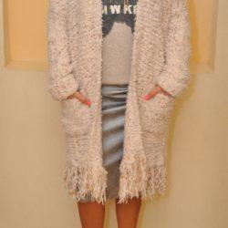 Стильный модный кардиган , one size, Италия, суперстильный, тёплый и мягкий!