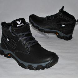 Модные стильные брендовые зимние кожаные ботинки Armani  для мальчика 40 размер 41 размер 42 размер 43 размер 44 размер 45 размер