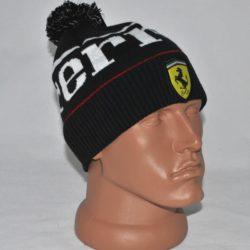 Модная стильная брендовая зимняя вязаная шапка Ferrari для мальчика 8 лет 9 лет 10 лет 11 лет 12 лет 13 лет 14 лет. Крутецкая!