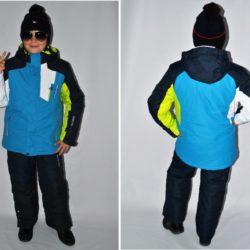 Модный стильный брендовый лыжный костюм Armani для мальчика 9 лет 10 лет 11 лет 12 лет 13 лет 14 лет 15 лет