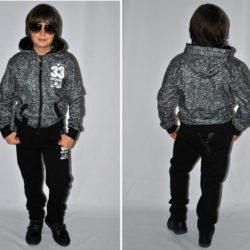 Стильный модный  брендовый утеплённый спортивный костюм на флисе Armani для мальчика 8 лет 9 лет 10 лет 11 лет 12  лет