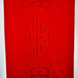 Стильное полотенце Armani 1,7*1 м . Турция, хлопок, шикарное качество!Логотип вышит.