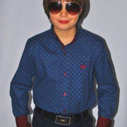 Стильная модная брендовая нарядная рубашка Armani на мальчика 8-14 лет.Турция, хлопок, отличное качество!