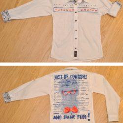 Модная стильная рубашка на мальчика 10-12 лет. Турция, хлопок, отличное качество!