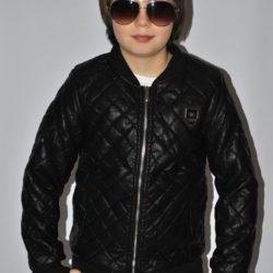 Модная стильная брендовая кожаная куртка Philipp Plein для мальчика 8 лет 9 лет 10 лет 11 лет 12 лет. Турция, экокожа , отличное качество!