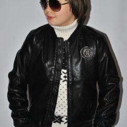 Брендовая стильная кожаная куртка Philipp Plein для мальчика 9 лет  10 лет  11 лет  12 лет 13 лет. Турция , экокожа, отличное качество!