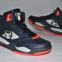 Модные стильные брендовые кроссовки Armani для мальчика 36 размер 37 размер 38 размер 39 размер 40 размер 41 размер. Экокожа, отличное качество!