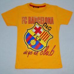 Модная футболка D&G FC Barcelona для мальчика 7 лет 8 лет 9 лет 10 лет 11 лет 12 лет 13 лет. Турция, хлопок, отличное качество!