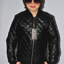 Модная стильная брендовая стёганая кожаная куртка Philipp Plein на мальчика 8 лет 9 лет 10 лет 11 лет 12 лет 13 лет 14 лет 15 лет 16 лет. Турция, экокожа.