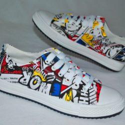 Модные стильные брендовые спортивные туфли John Galliano  35 размер 36 размер 37 размер 38 размер 39 размер 40 размер на мальчика.