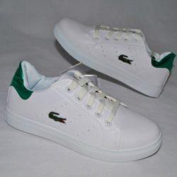 Модные стильные брендовые спортивные туфли Lacoste 35 размер 36 размер 37 размер 38 размер 39 размер 40 размер. Унисекс, экокожа.