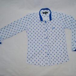 Модная стильная брендовая нарядная рубашка Kenzo на мальчика 9 лет 10 лет 11 лет 12 лет 13 лет 14 лет. Турция, хлопок, отличное качество!