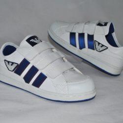 Модные стильные брендовые кроссовки Armani на мальчика 31 размер 32 размер 33 размер 34 размер 35 размер 36 размер