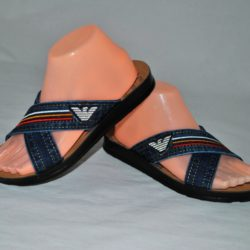 Модные стильные брендовые  шлёпки сланцы шлёпанцы вьетнамки тапочки Armani 36 размер 37 размер 38 размер 39 размер 40 размер