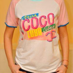 Трендовая женская футболка Chanel Coco Cuba S-M, хлопок, отличное качество!