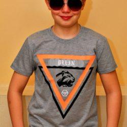 Модная футболка Philipp Plein на мальчика 8 лет 9 лет 10 лет 11 лет 12 лет 13 лет 14 лет. Хлопок.