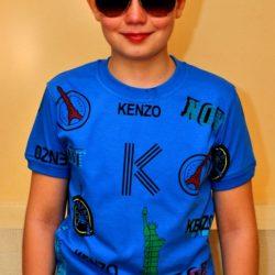 Модная стильная брендовая футболка Kenzo для мальчика 9 лет 10 лет 11 лет 12 лет 13 лет 14 лет