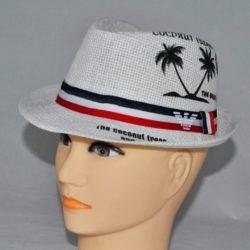 Модная  стильная брендовая белая шляпа Armani для мальчика 8 лет 9 лет 10 лет 11 лет 12 лет 13 лет 14 лет.