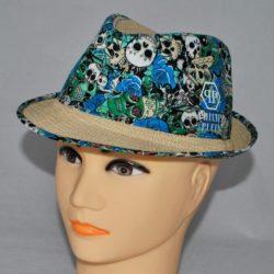 Стильная модная брендовая шляпа Philipp Plein для мальчика 8 лет 9 лет 10 лет 11 лет 12 лет 13 лет 14 лет.