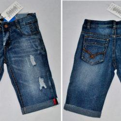 Модные брендовые джинсовые шорты Philipp Plein для мальчика 9-14 лет. Хлопок, отличная посадка!