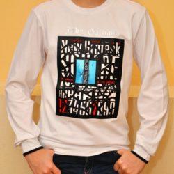 Модный стильный брендовый реглан Galliano для мальчиков 9 лет 10 лет 11 лет 12 лет 13 лет 14 лет 15 лет. Турция, хлопок, отличное качество!
