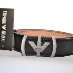Модный брендовый кожаный ремень Armani для мальчиков 8-15 лет. Турция, натуральная кожа.