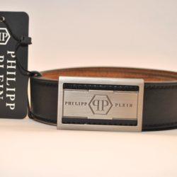 Модный стильный брендовый кожаный ремень Philipp Plein  для мальчиков 8-15 лет. Турция, натуральная кожа