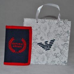 Стильный брендовый кошелёк Armani
