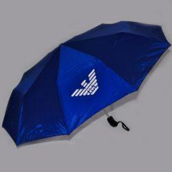 Стильный модный брендовый зонт Armani , полуавтомат