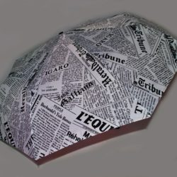 Стильный модный брендовый зонт-полуавтомат Galliano. Отличное качество!