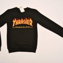 Модный трендовый реглан Thrasher для мальчиков 12 лет 13 лет 14 лет 15 лет. Турция,хлопок