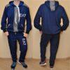 Брендовый спортивный костюм Emporio Armani для мальчиков 10 лет 11 лет 12 лет 13 лет 14 лет 15 лет. Турция, хлопок.