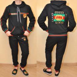 Модный стильный брендовый спортивный костюм Gucci для мальчика 10-16 лет. Турция,хлопок