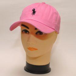 Трендовая стильная розовая бейсболка Polo Ralph Lauren 54 размер 55 размер 56 размер 57 размер  58 размер