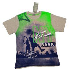 Модная брендовая футболка John Galliano для мальчиков 10 лет 11 лет 12 лет 13 лет 14 лет. Турция, хлопок