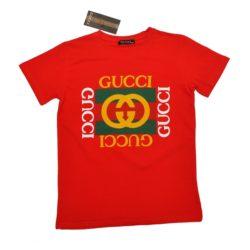Модная трендовая футболка Gucci мальчиков 10 лет 11 лет 12 лет 13 лет 14 лет 15 лет, Турция, хлопок