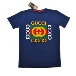 Трендовая  футболка Gucci мальчиков 10 лет 11 лет 12 лет 13 лет 14 лет 15 лет, Турция, хлопок