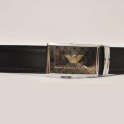 Стильный брендовый кожаный ремень Armani для мальчика 7-15 лет, Турция, натуральная кожа