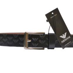 Стильный брендовый кожаный ремень Armani для мальчика. Турция, экокожа. Отличное качество!
