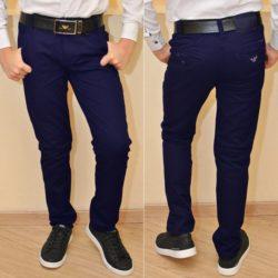 Стильные синиешкольные джинсы Armani для мальчиков   11 лет 12 лет 13 лет 14 лет 15 лет . Турция, хлопок, отлично сидят!