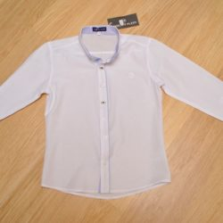 Белая школьная рубашка Philipp Plein с длинным рукавом для мальчиков 9 лет 10 лет 11 лет 12 лет 13 лет 14 лет. Турция, хлопок