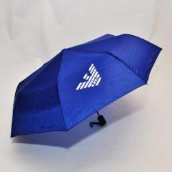 Модный стильный брендовый зонт  Armani . Полуавтомат, защита от ветра