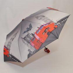 Стильный модный  брендовый зонт  Armani . Полуавтомат, защита от ветра