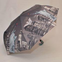 Стильный  брендовый зонт  Armani . Полуавтомат, защита от ветра.