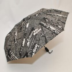 Модный стильный брендовый зонт  Galliano . Полуавтомат, защита от ветра