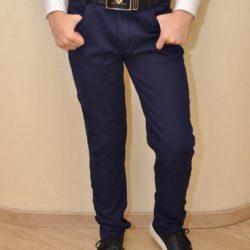 Брендовые утеплённые синие джинсы Armani  на флисе на мальчиков 7 лет 8 лет 9 лет 10 лет 11 лет 12 лет 13 лет 14 лет. Турция